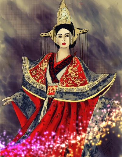 Japanese Woman | missdarrian | Digital Drawing | PENUP