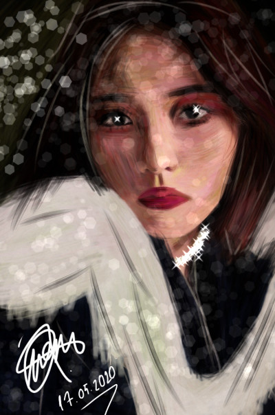 Red velvet ❤️ Joy | IREM.Aksoy | Digital Drawing | PENUP