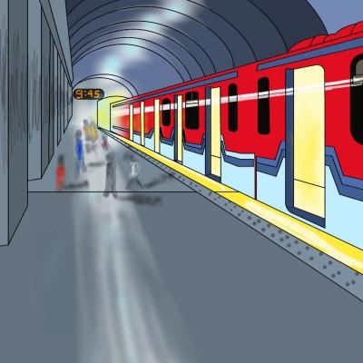 London Tube! | Sylvia | Digital Drawing | PENUP