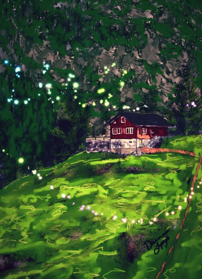 Homestead | missdarrian | Digital Drawing | PENUP