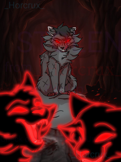 Shadows (BLOOD WARNING)  | _Horcrux_ | Digital Drawing | PENUP