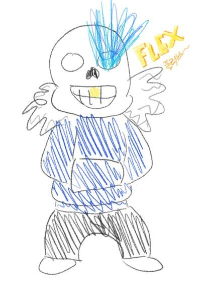 와... 샌즈다... | Nicole | Digital Drawing | PENUP