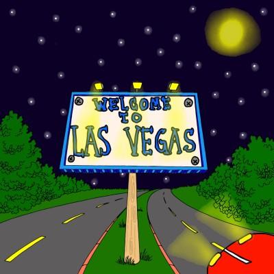 """Welcome to Las Vegas"" Coloring | JessyArtisty | Digital Drawing | PENUP"
