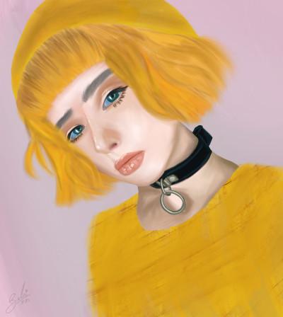 Y Yellow    _Belu_   Digital Drawing   PENUP