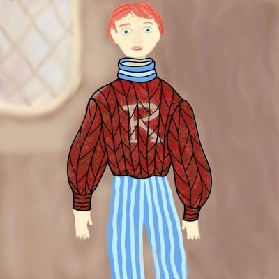 Ron Weasley | Bren | Digital Drawing | PENUP