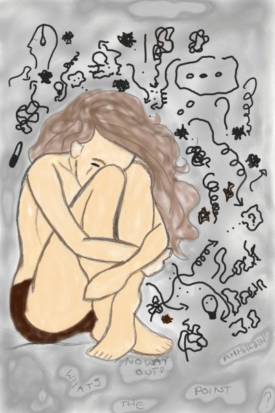MENTAL HEALTH    louisexdohertyx   Digital Drawing   PENUP