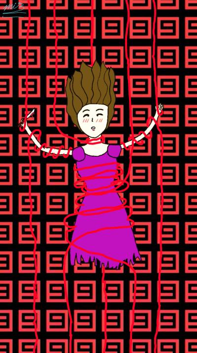 Draw Aliza Horrortale-Undertale AU | Kris_the_Killer | Digital Drawing | PENUP