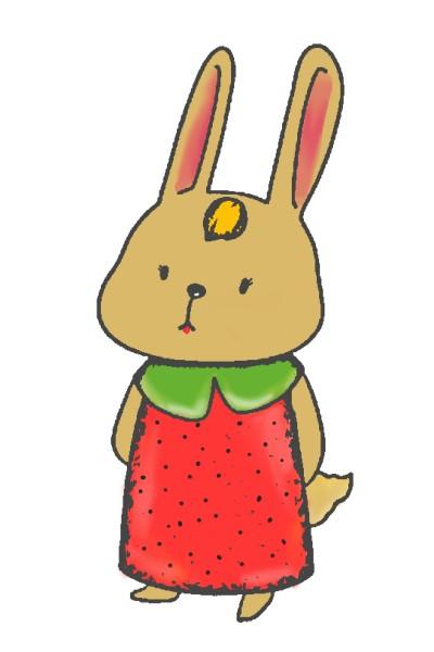 Strawberry bunny :)    Ruta   Digital Drawing   PENUP