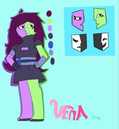 VENA reference sheet :D | A_Smol_Moth | Digital Drawing | PENUP