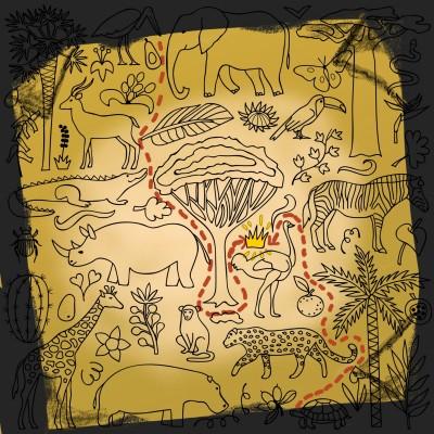 Treasure map | OmrGhabban | Digital Drawing | PENUP