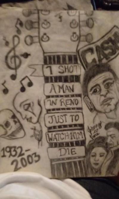 Tribute to Cash   AmandaM   Digital Drawing   PENUP