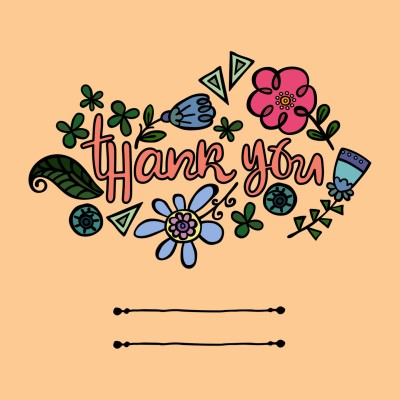 Thank you Card | Aetarat | Digital Drawing | PENUP