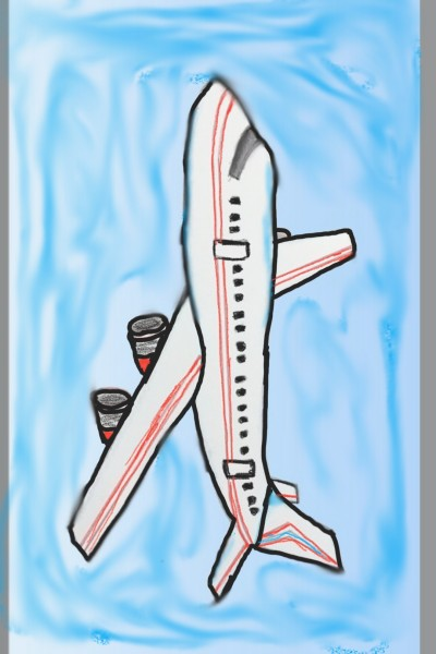 aeroplane  | Mohamedpro2 | Digital Drawing | PENUP