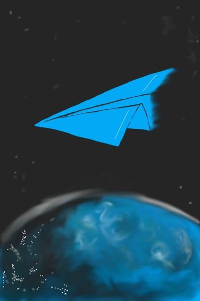 paper plane | Suphon | Digital Drawing | PENUP
