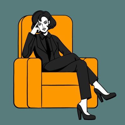 boss lady | rocky | Digital Drawing | PENUP