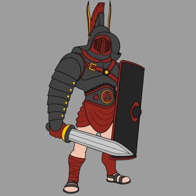 The Crimson Knight   cptpebkac   Digital Drawing   PENUP