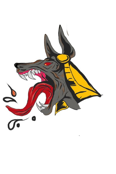 anubis... | jeraldo | Digital Drawing | PENUP