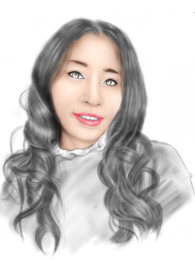 potrait drawing for @young | opit | Digital Drawing | PENUP