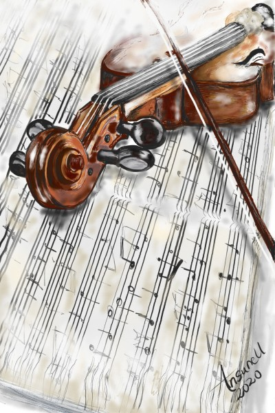 Play as a song... | Ansunell | Digital Drawing | PENUP