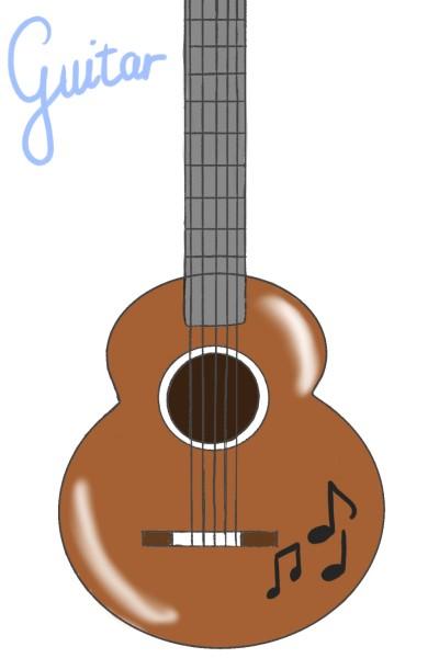 My guitar  | amy.nguyen | Digital Drawing | PENUP