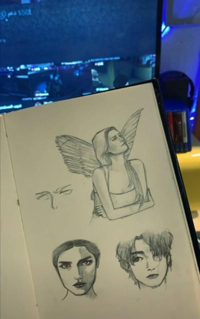 Portrait Digital Drawing | SHAHAD. | PENUP