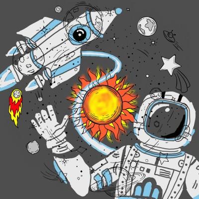space | J-O-C | Digital Drawing | PENUP