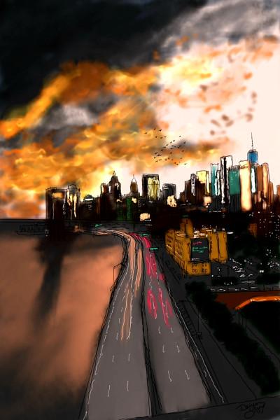 Night City | missdarrian | Digital Drawing | PENUP