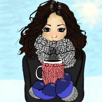 winter girl | Zauberphoenix | Digital Drawing | PENUP