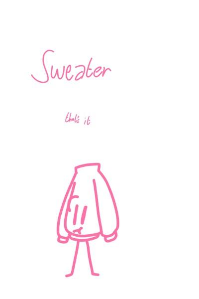 Sweater  | Kyra1st | Digital Drawing | PENUP