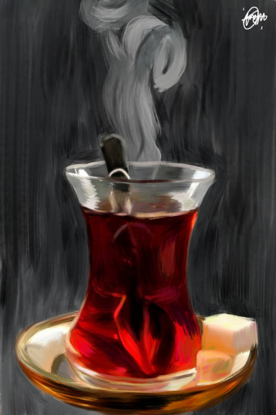 Tea❤️ | IREM.Aksoy | Digital Drawing | PENUP