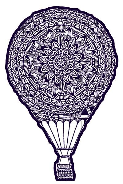 mandala balloon  | Rishin_artist. | Digital Drawing | PENUP