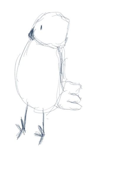 Baby Duck of my 8 years oldson  | Ayca | Digital Drawing | PENUP