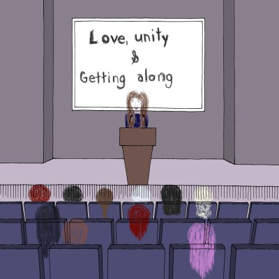 love, unity & getting along   Rhonda   Digital Drawing   PENUP