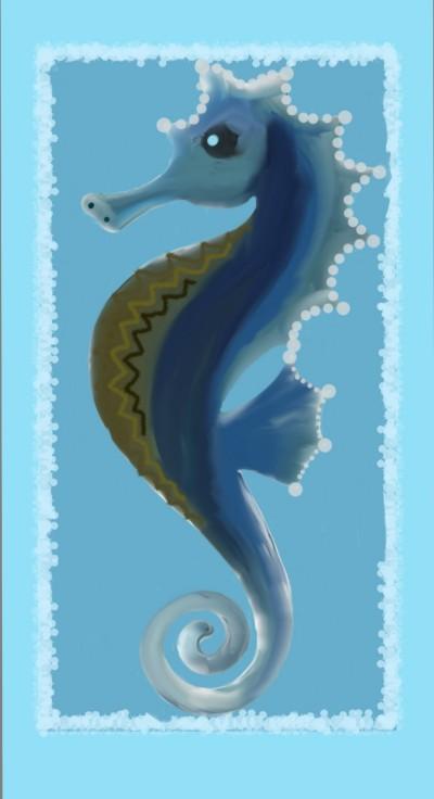 Seahorse | sherlock | Digital Drawing | PENUP