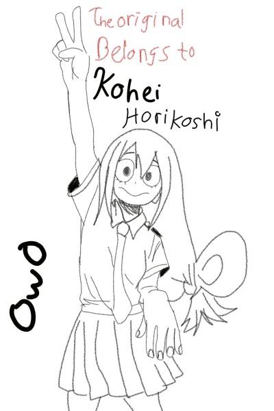 Tsuyu Asui   Sad_Kermit   Digital Drawing   PENUP