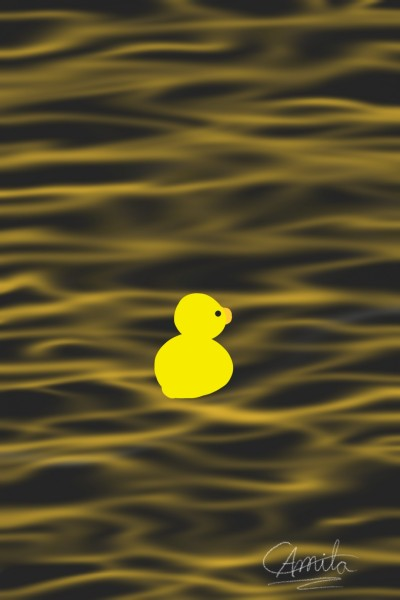 The duck    CamilaAmaral   Digital Drawing   PENUP