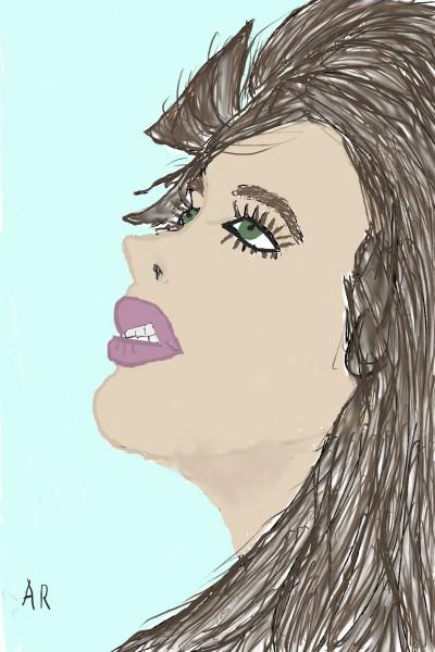 collab w/Andreia | Rhonda | Digital Drawing | PENUP