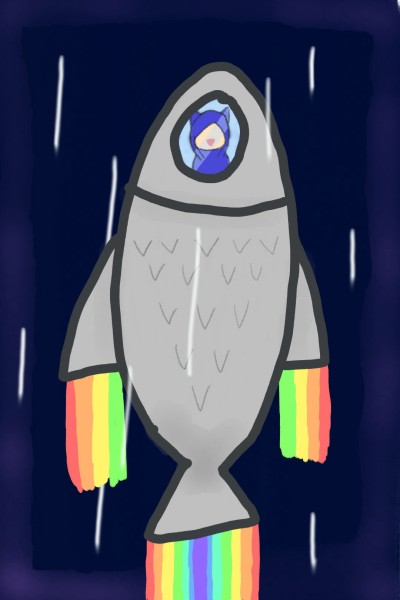 Fish Rocket!!!#2 | PUMA-Cat | Digital Drawing | PENUP