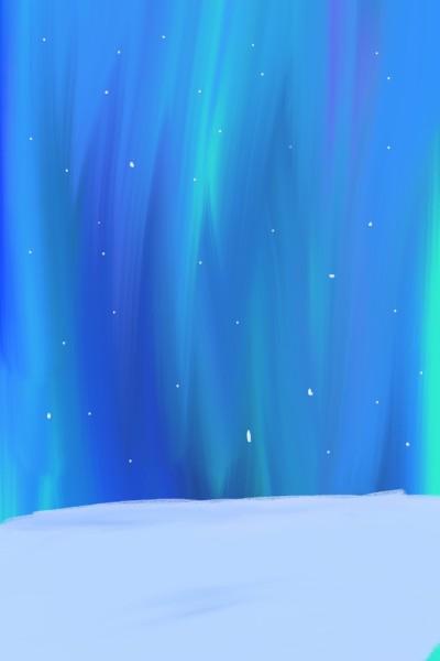 Polar Nights   Wolfy   Digital Drawing   PENUP