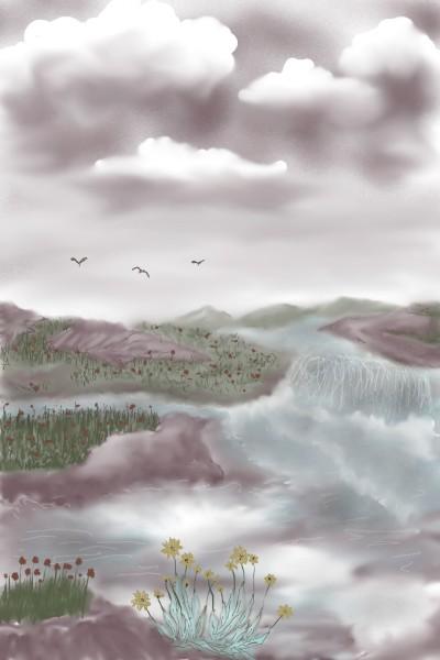 waters rage | Rhonda | Digital Drawing | PENUP