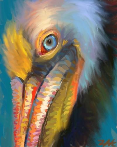 pelican    zak   Digital Drawing   PENUP