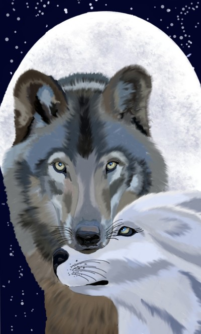 Wolves in Love   sherlock   Digital Drawing   PENUP