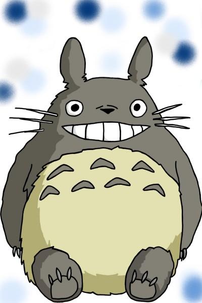 Totoro | Violet | Digital Drawing | PENUP
