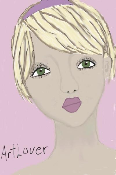 collab w/ ArtLover   Rhonda   Digital Drawing   PENUP