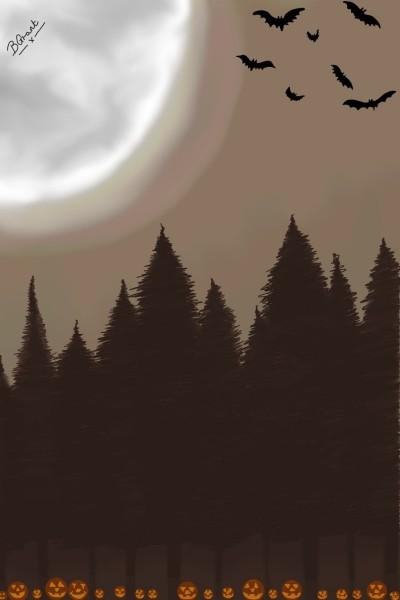 brown, October's sky | Bobbydee93 | Digital Drawing | PENUP