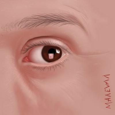 i see you!   maleval_sam   Digital Drawing   PENUP