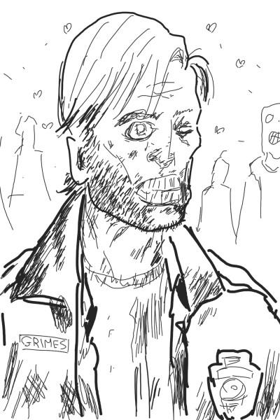 Let's draw herror The walking dead comic   | OmrGhabban | Digital Drawing | PENUP