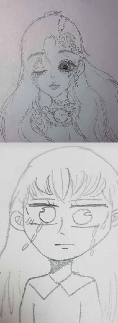 친구랑 낙서하기!   MOJJI_hayeon   Digital Drawing   PENUP