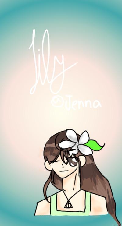 릴리   Jenna-_-   Digital Drawing   PENUP
