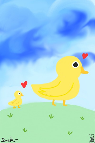 Ducks  | Sarah | Digital Drawing | PENUP